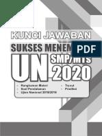 Kunci Un Smp 2020
