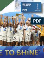 Informe Tecnico de La Copa Mundial Femenina de La Fifa Francia 2019tm