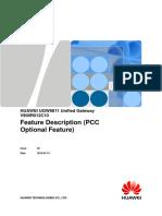HUAWEI UGW9811 Unified Gateway V900R012C10 Feature Description (PCC Optional Feature)