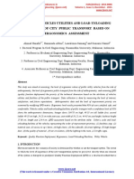 Study of Vehicle Utilities and Load Unloading Facilities of City Public Transport Based on Ergonomics Assessment