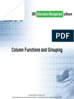 6. Column Functions and Grouping