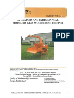 826pto Chipper Manual p.w. 10.30.2017