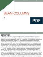 Beam Columns 6