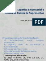 6.1 Logística Empresarial e Sustentabilidade
