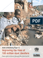 Improving the Lives of 100 Million Slum Dwellers Guide to Monitoring Target 11
