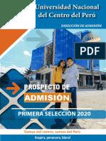 Prospecto Admisión Ps 2020