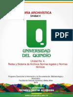 Unidad No. 4. Redes y Sistema de Archivos Normas Legales y Normas Técnicas Actividad Académica