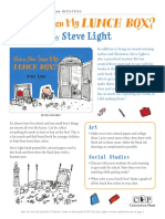 Have You Seen My Lunch Box? by Steve Light Teachers' Guide