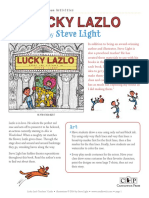 Lucky Lazlo by Steve Light Teachers' Guide