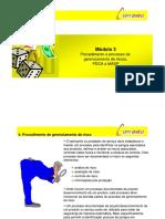 Módulo 3 Procedimento e Processo de Gerenciamento de Riscos, PDCA e MASP - PDF