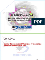 Chapter 13 Audit of the Sales and Collection Cycle