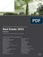 The International Comparative Legal Guide to- Real Estate 2015