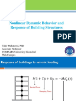 Nonlinear Dynamic Behavior and Response of Building Structures