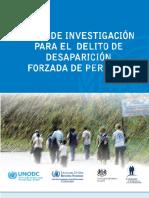 Plan de Investigacion Desaparicion
