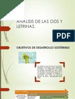 Analisis de Las Ods y Letrinas