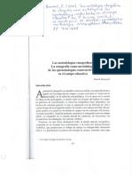 Boumard, p. Las Metodologías Etnográficas