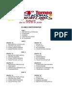 Copa Del Lago Calendario