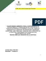 89064627 Plan de Manejo Ambiental Para El Fortalecimiento y La Consolidacion de La Gestion de La Agencia de Desarrollo Economico Local Del Complejo Cenagoso De