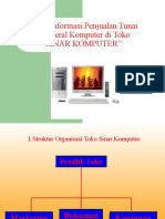 Sistem Informasi Penjualan Tunai Peripheral Komputer Di Toko