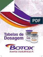 tabela dosagem botox pdf