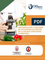 Implementacion Gestion y Audiotria de Sistemas de Gestion de La Calidad e Inocuidad Alimentaria