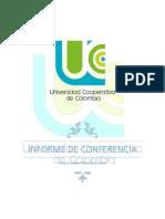 informe de conferencia