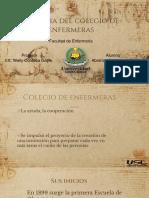 Historia Del Colegio de Enfermeras