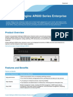 Huawei NetEngine AR600 Series Enterprise Routers Datasheet