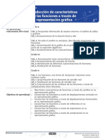 Características de las funciones