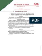Convenio de Intervención Social de Bizkaia 2017-2021 BOB