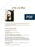 El Padre Pío y la Misa