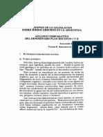 Sinopsis de La Legislacion Sobre Hidrocarburos en La Argentina Analisis Comparativo Del Denominado Plan Houston i y II