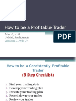 How to Be a Profitable Trader (1)