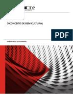 O CONCEITO DE BEM ULTURAL