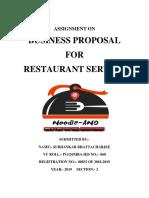 Entreprenuership Project