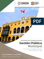 Diploma Gestion Municipal