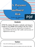 US Presence in SW Asia 2