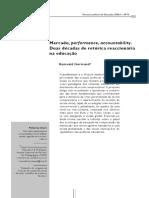 NORMAND, R. Mercado, performance, accountability_ duas décadas de retórica