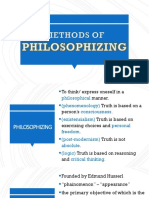 Philosophize