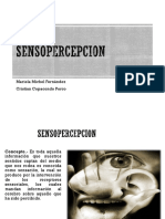 SENSOPERCEPCIÓN PSIQUIATRIA