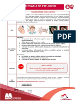 Charla de Preinicio - Uso Del Tapon Auditivo