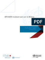 HIV-AIDS Treatment and Care in Belarus