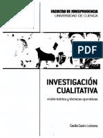 Investigacion Cualitativa 2010