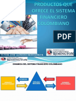 PRODUCTOS SISTEMA FINANCIERO COLOMBIANO