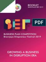 Booklet Semifinalis BEF 2019