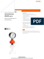 Separador de Membrana Stubbe Mdm902