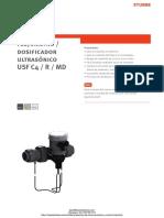 Rotametro Dosificacion Por Ultrasonido Stubbe Usf c4