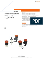 Indicador Nivel Ultrasonidos Stubbe Umf200