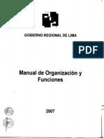 Mof Gobierno Regional
