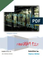 project file cse